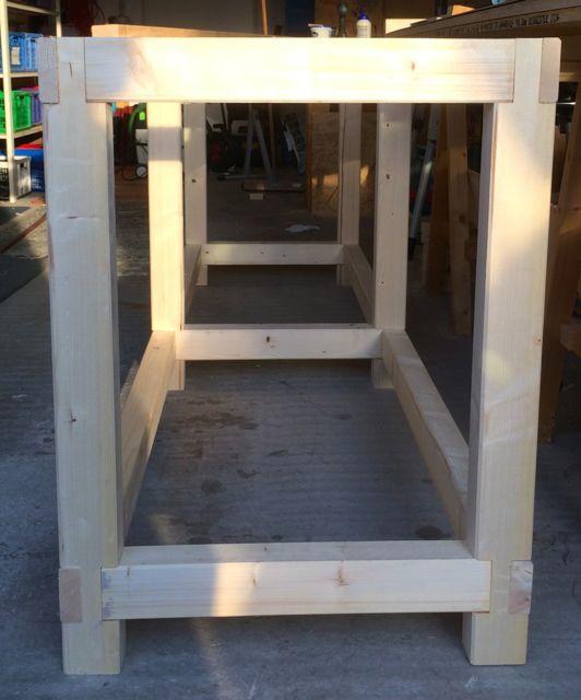 werkbank selber bauen stahl. Black Bedroom Furniture Sets. Home Design Ideas