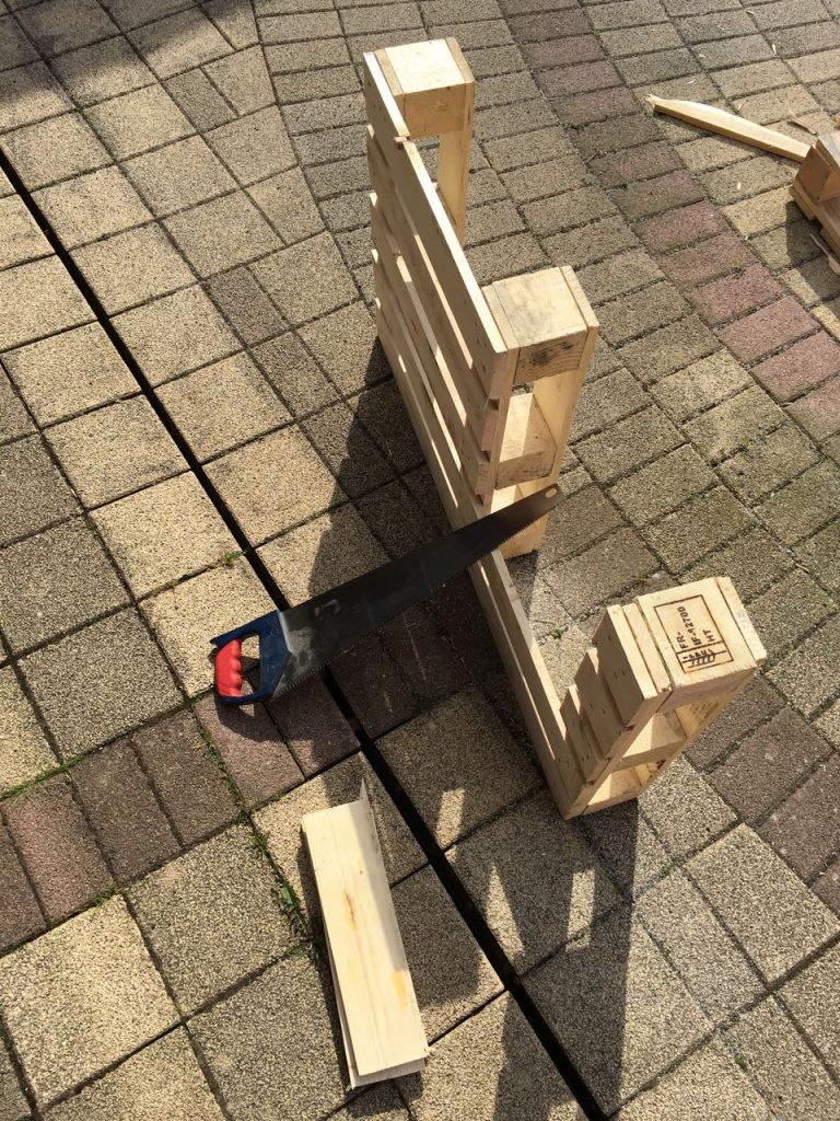 Paletten Recycling Ein Experiment Holz Und Leim