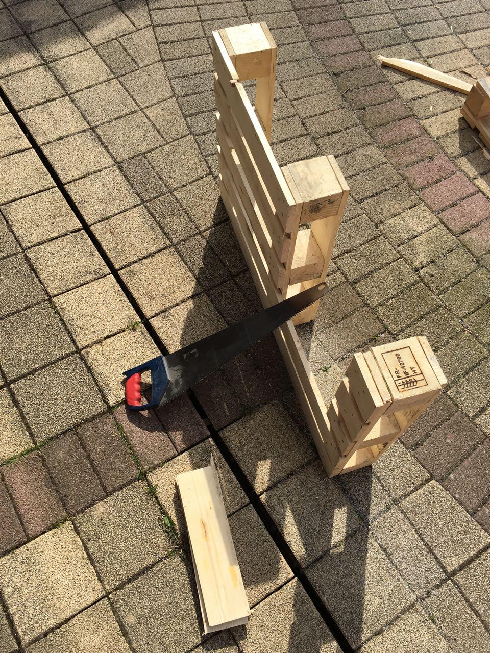 Paletten-Recycling - Ein Experiment - Holz Und Leim