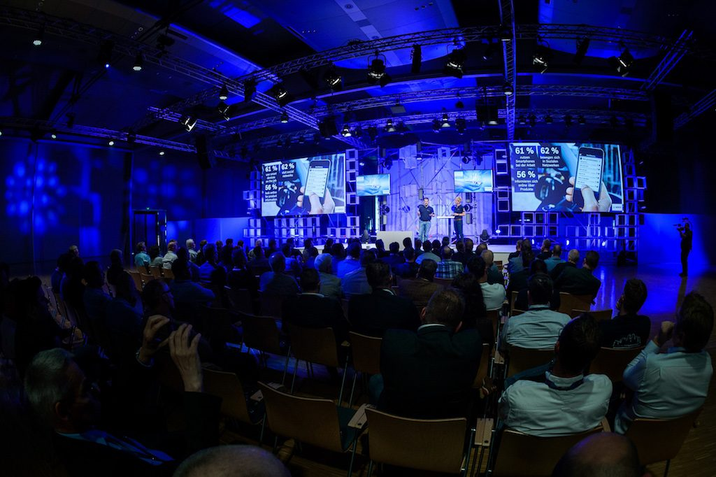 Fotograf: Andre Wagenzik, Bosch Blue Innovation Summit 2016, (c) 2016 Robert Bosch GmbH.