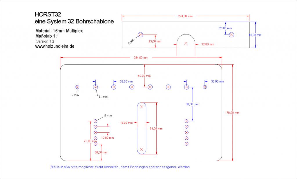 horst32 die bohrschablone f r massivholzm bel update holz und leim. Black Bedroom Furniture Sets. Home Design Ideas
