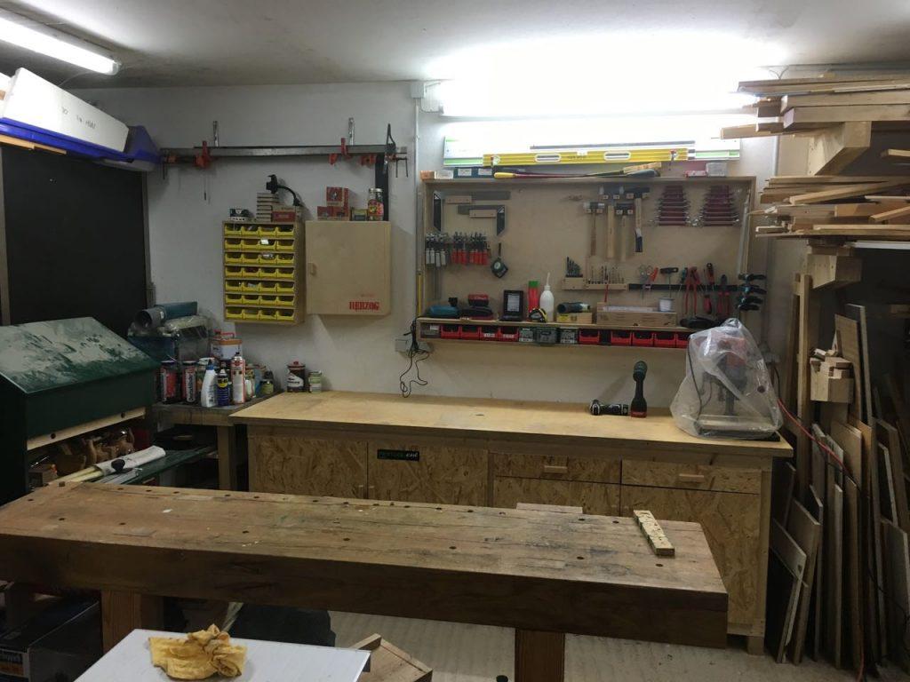 Meine werkzeugwand ganz pragmatisch holz und leim for Garage einrichten ideen