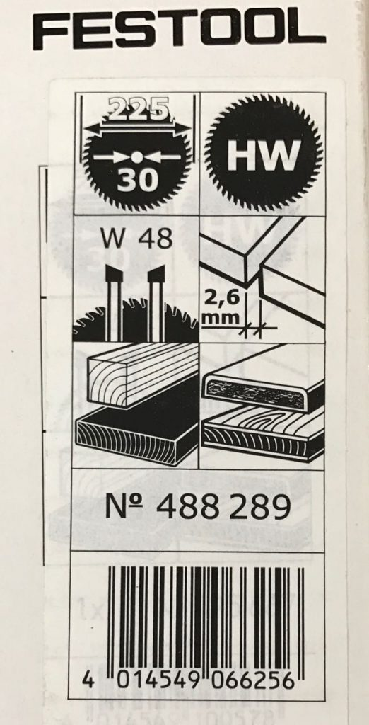 sägeblätter für hartholz
