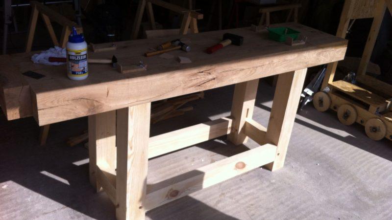Workbench assembled