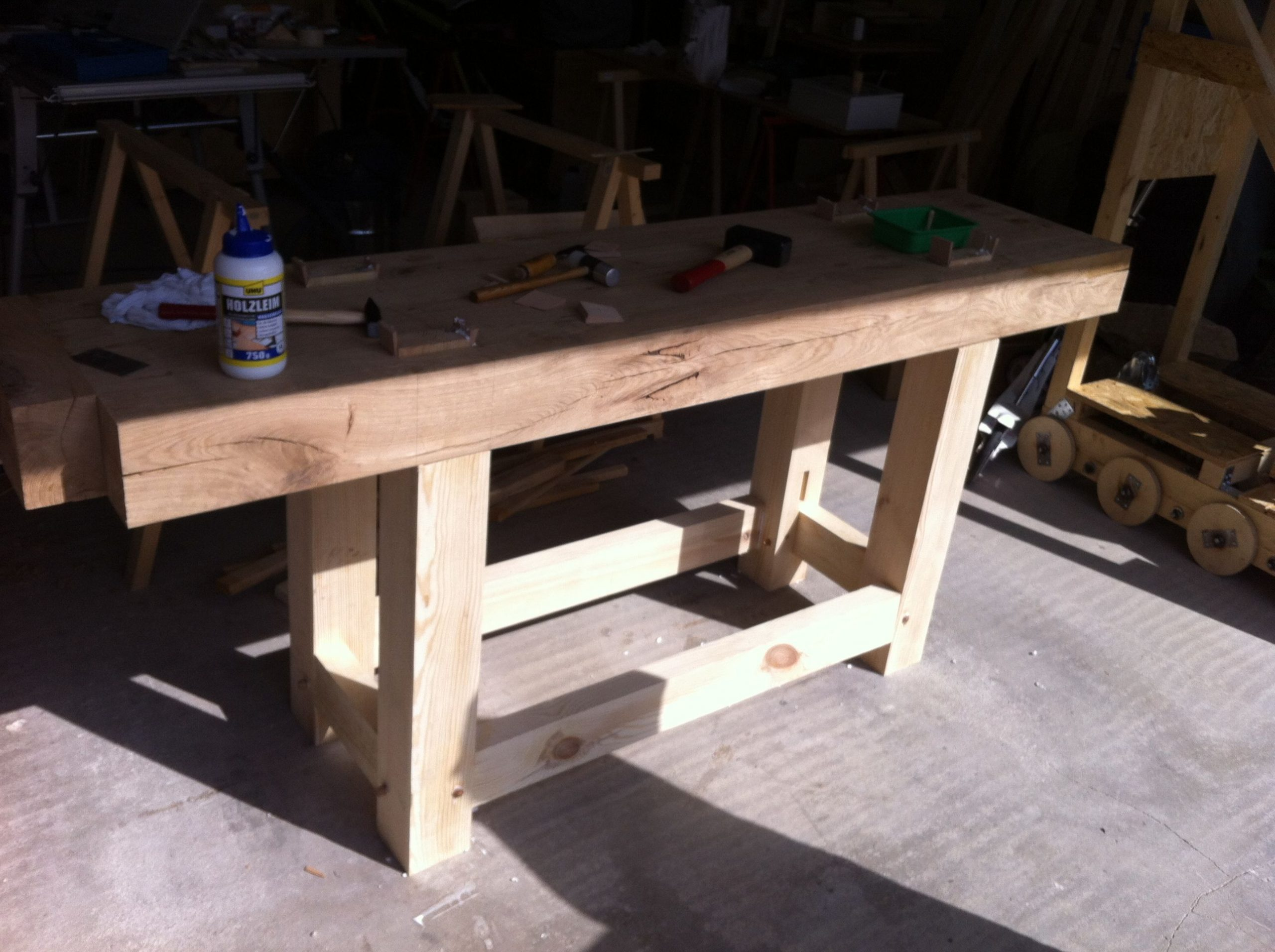 Workbench assembled