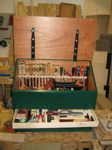 Front View Dutch Toolchest