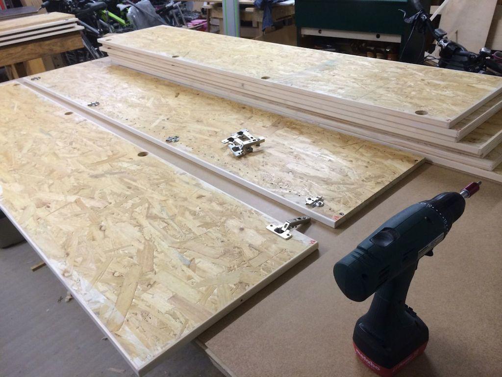 Schrankbau Im System32 Teil 5 Topfscharniere Holz Und Leim