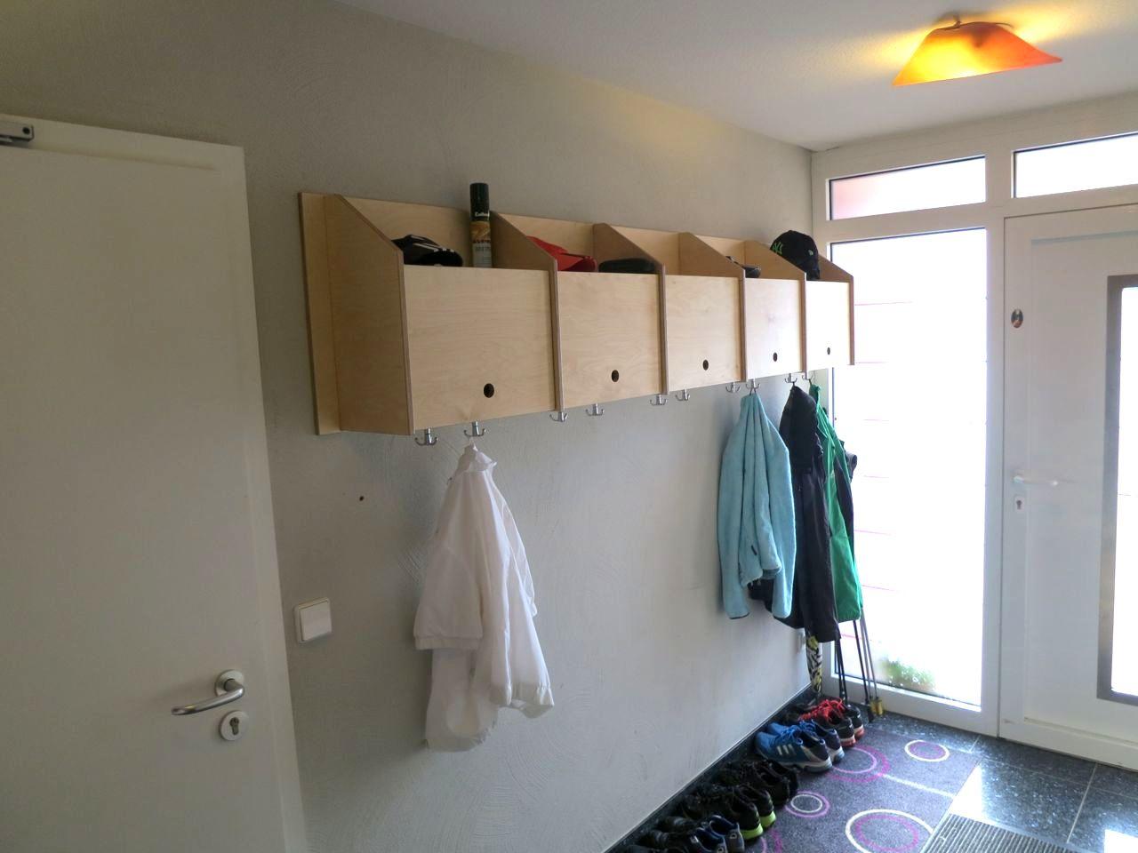 garderobe selbst gebaut teil 3 holz und leim. Black Bedroom Furniture Sets. Home Design Ideas