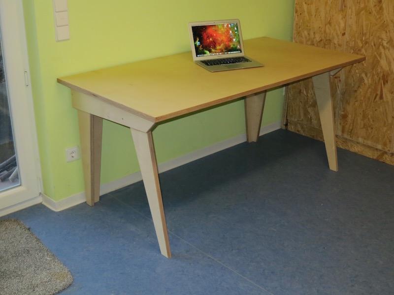 Hervorragend Computertisch – einfach selbst gebaut (Teil 1) - Holz und Leim SF44