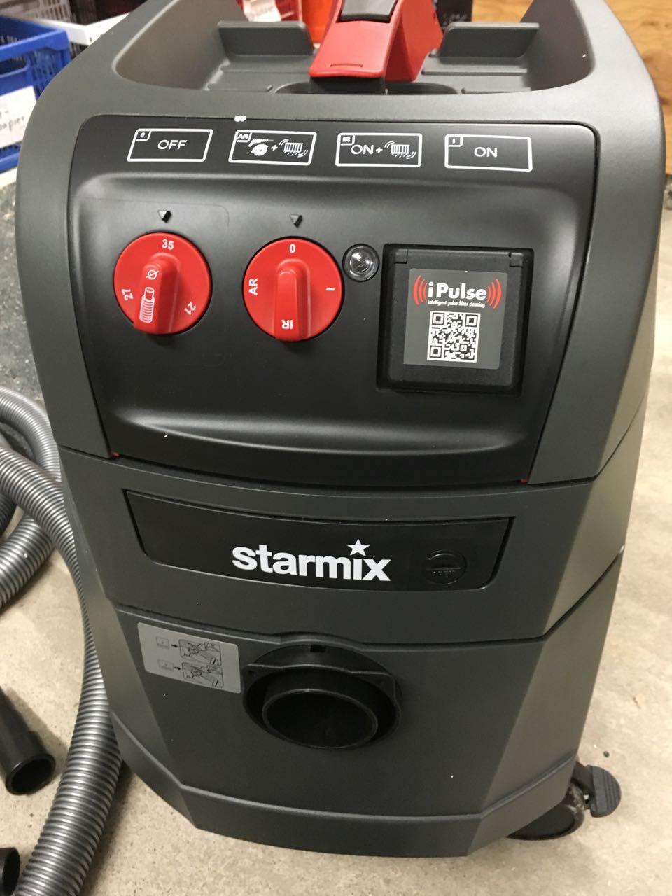 Turbo Starker Sauger - Starmix ISP iPulse ARM-1635 EW - Holz und Leim LM71