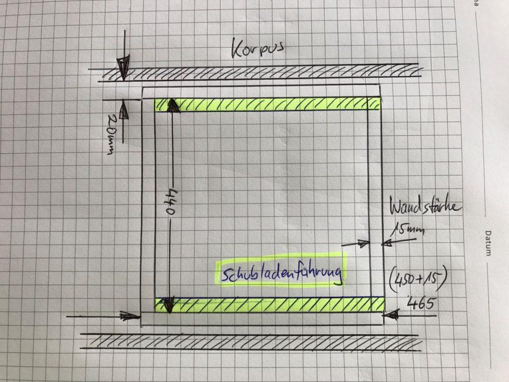 Gut gemocht TV-LowBoard aus Buche – Teil 3 Schubladen bauen - Holz und Leim UB57