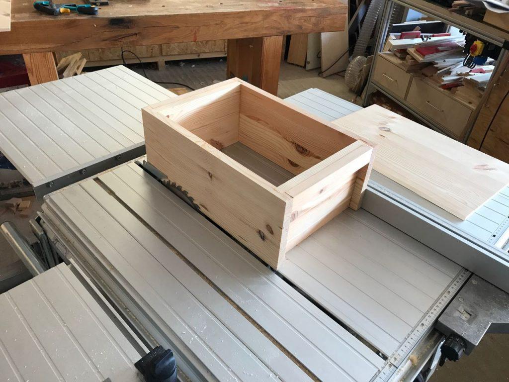 Favorit Japanische Werkzeugkiste aus Massivholz - Holz und Leim EP82