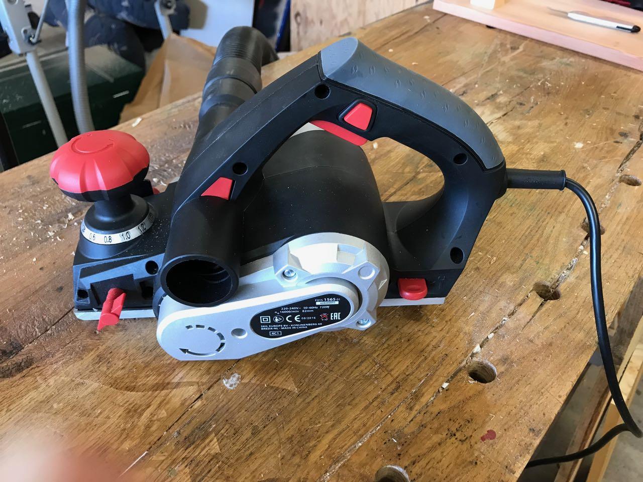 Bevorzugt Elektrisch Hobeln - eine kleine Einführung - Holz und Leim IR55