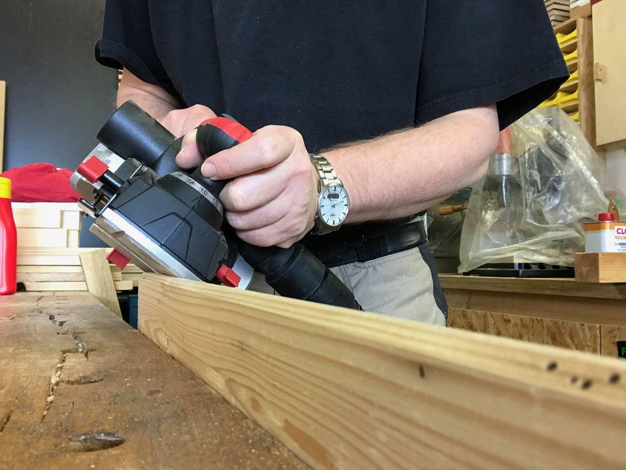 Extrem Elektrisch Hobeln - eine kleine Einführung - Holz und Leim QH89