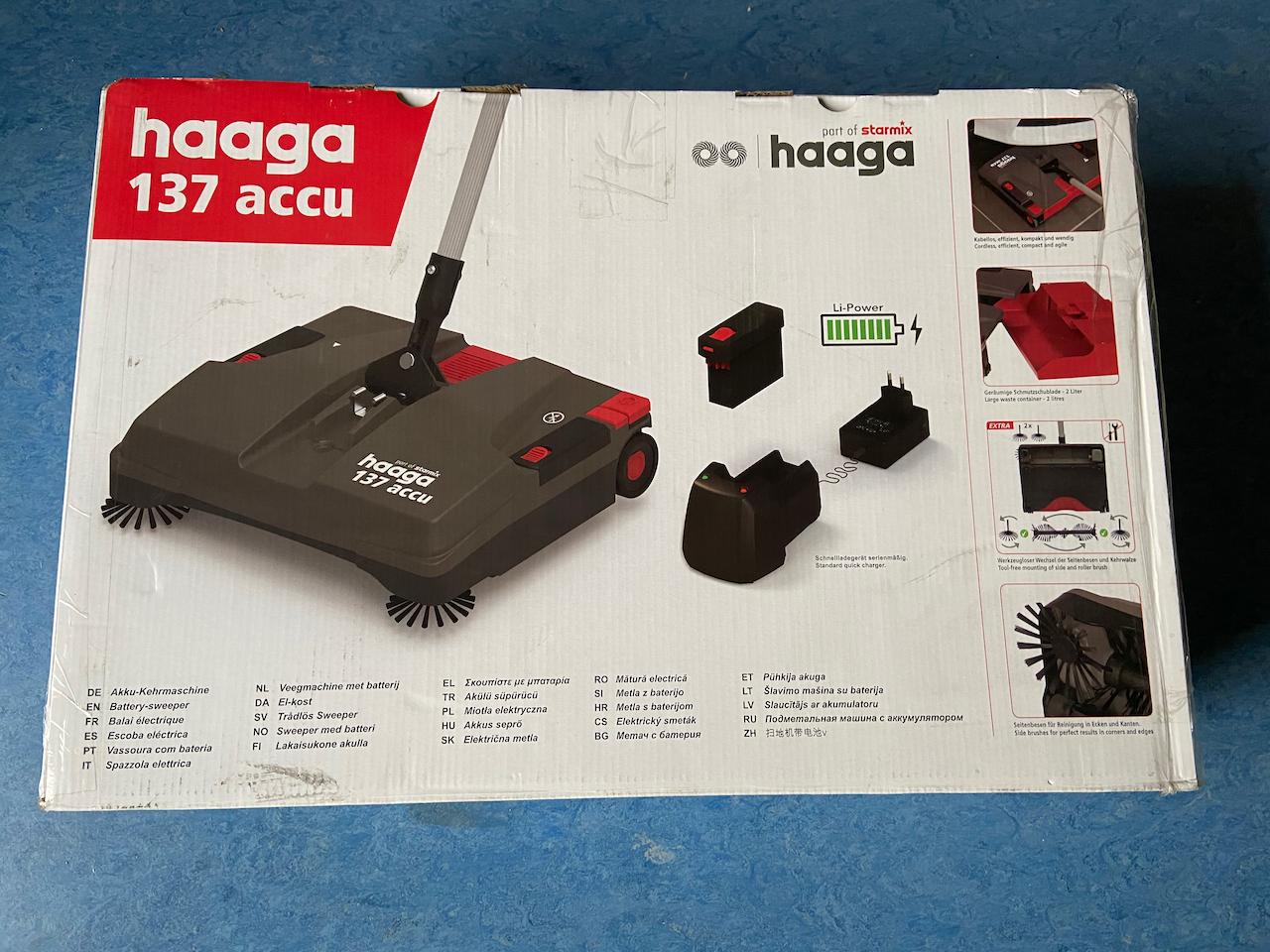 Haaga 137 Kehrmaschine